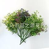 HUAYIFANG Das Wohnzimmer Ist Kleine Topfpflanzen Emulation D. Wohnzimmer In Einem Kleinen Topf Rosa Blumen Eingerichtet.