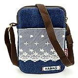 Mopaclle Mädchen klein Bezaubernd Umhängetasche Brieftasche Geldbeutel Handy Taschen für iphone X,iPhone 8 Plus, Samsung Galaxy S8 Plus