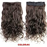 Best GENERIC Hair Extentions - Generic 130G/Pack Clip-In Hair Extensions 24Inch Body Wave Review