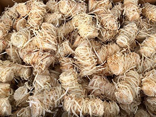 6,5 kg Zündwolli Anzünder aus Holzwolle und Wachs Ofenanzünder Kaminanzünder Grillanzünder Brennholzanzünder Kaminholzanzünder Holzanzünder