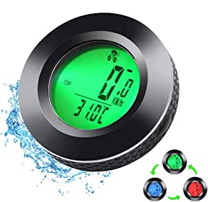Bicycle Computer Wireless Waterproof Bicycle Speedometer With 3 Backlight Car Wake Up Bicycle Speedometer Wireless Lcd Bicycle Computer Wireless Bicycle Computer For Children And Adults Sport Freizeit