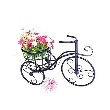 BEITE  Patio Mini Garten Fahrrad Bügeleisen Pflanze Stand Für  Gartendekoration, Indoor, Outdoor Dekoration ( Farbe : Schwarz ):  Amazon.de: Küche U0026 Haushalt