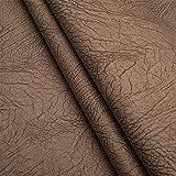 Elefant Nubuk Imitat Microfaser Möbelstoff Polsterstoff Möbel Sitzbezug Stoff Meterware - Dunkelbeige - EL25