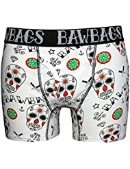 Bawbags Day Of The Dead Boxer Homme Humour (Blanc)