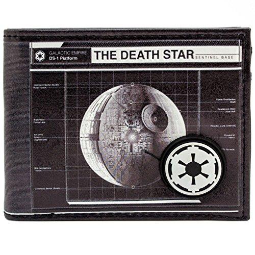 Disney Star Wars Death Star Kaiser Schwarz Portemonnaie (Kostüme Kaiser)