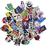 Pack Of 100 Laptop Stickers - PREMIUM Stickers Decals Vinyls | Pack Of The Best Selling Quality Sticker | Perfect To Graffiti Your Laptop, Skateboard, Luggage, Car, Bumper, Bike, Hard Hat Laptop Stickers