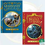Quidditch Through the Ages and The Tales of Beedle the Bard [Paperback] By J.K. Rowling 2 Books Bundle Collection with Gift Journal