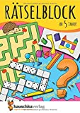 Rätselblock ab 5 Jahre: Kunterbunter Rätselspaß: Labyrinthe