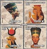 Mosambik 2441-2444 2002 Altägyptische Herrscher (Briefmarken für Sammler)