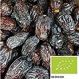 1kg di datteri Medjool bio essiccati con nocciolo - datteri Medjool non trattati e senza aggiunta di zuccheri da agricoltura biologica certificata