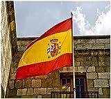 Bandera de España 150×90cm para La Decoración del Lugar Parezca Más Juvenil de Bandera Española