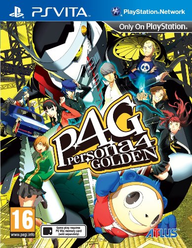Atlus Shin Megami Tensei: Persona 4 Golden, PSV