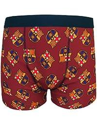 FC Barcelona - Calzoncillos oficiales de estilo bóxer - Para hombre - Con el escudo del club