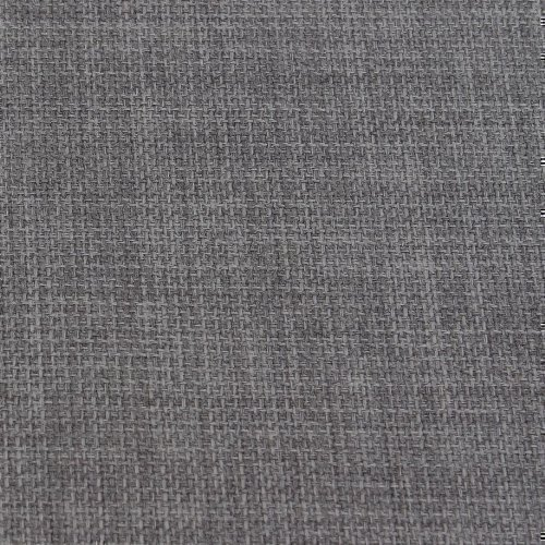 SLATE GREY SOFT PLAIN LINEN LOOK HOME ESSENTIAL DESIGNER LINOSO CURTAIN  CUSHION SOFA BLIND UPHOLSTERY FABRIC MATERIAL SOLD BY THE METRE