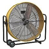 "Sealey hvd30110V Industrial ventilador de alta velocidad tambor 30""110V"
