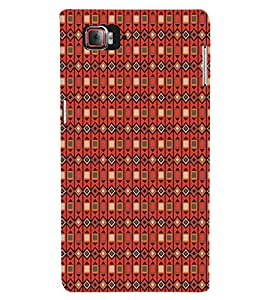 EPICCASE diamond and blocks Mobile Back Case Cover For Lenovo Vibe Z2 Pro K920 (Designer Case)