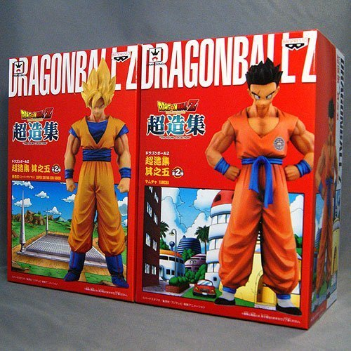 dragon-ball-z-super-structure-collection-five-super-saiyan-goku-yum-cha-full-set-of-2-banpresto-priz