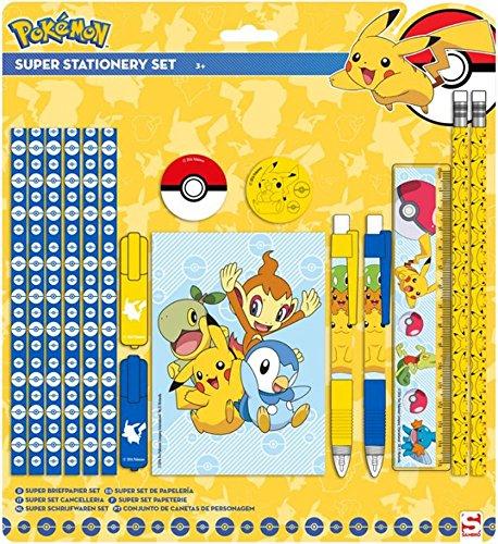 Pokemon-Set da scrittura con 16pezzi