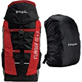 Mufubu Presents Climber 50 LTR Rucksack for Hiking, Trekking & Travelling with Rain Cover