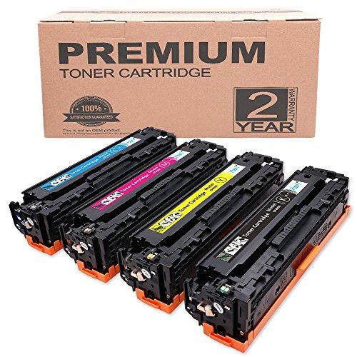 Itari Kompatibel Ersatz für HP 201X CF400X CF401X CF402X CF403X Tonerkartusche für HP Color LaserJet Pro MFP M277dw M277n M252dw M252n Drucker Hohe Ausbeute - 4 Pack (Schwarz, Cyan, Magenta, Gelb)
