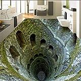 3D Stereo Super Schock Mine Boden Malerei Wandbild Fototapete Wohnzimmer Badezimmer PVC Wasserdicht, 200 * 140 cm