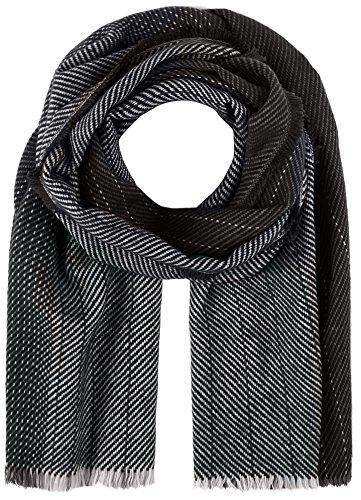 s.Oliver Herren Schal 97712914187, Grau (Grey/Black Stripes 96G1), One Size
