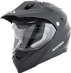 Acerbis 250544421 316 Flip Helmet Schwarz M Auto