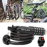 B5645ellsUniversal Fahrradschlösser Sicheres Kabel Sicherheit Mountainbike MTB Passwortsperre