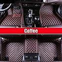 SIZHINIAN Luxury Car Floor mats for Mercedes Benz G350 G500 G55 G63 AMG W164 W166 M ML GLE X164 X166 GL GLS 320 350 400 420 450 500 550 Carpet,Coffee