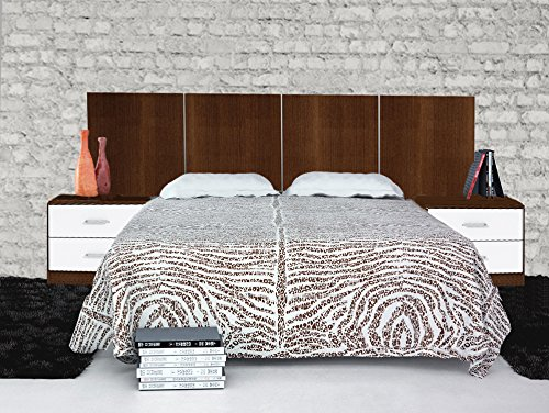 dormitorio-habitacion-de-matrimonio-smarty-cabecero-2-mesillas-wengue-y-blanco