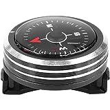 Tbest Mini Kompass Taschen Kompass Leichter Handgelenk kompass Uhrenarmband Kompass für Paracord Armband Für Survival Camping Outdoor Werkzeug Zubehör