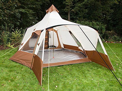 skandika ... & skandika Navaho Teepee 5-person Family Group Camping Tents with ...