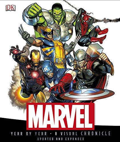 Marvel Year by Year A Visual Chronicle por DK