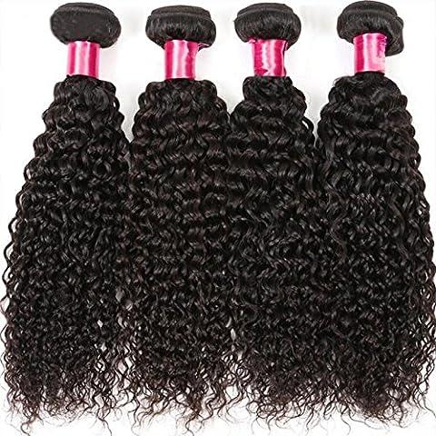 Brazilian Hair Extension Kinky Curly Human Hair Weft High Quality Remy Hair 100% Real Hair Length 26