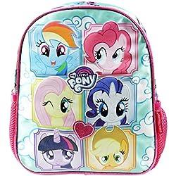 My Little Pony Fringe Zaino Infantil per Bambini Utile per Asilo come Portamerenda e Tempo Libero