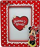 Disney 91010 - Minnie Cornice in Legno in Verticale, in Confezione Regalo, 16x2x19 cm