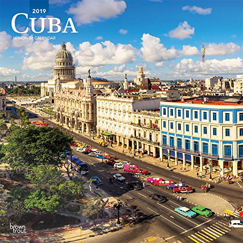 Cuba - Kuba 2019 - 18-Monatskalender: Original BrownTrout-Kalender