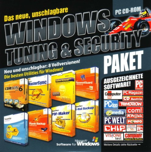Windows Tuning & Security Paket *CD only* (CDRWIN 6, TuneUp Utilities 2006,...