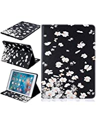 BONROY ® Tablet Apple iPad Pro 9.7 Hülle Etui Case Mode gemalt Muster Telefon-Kasten mit Standfunktion Karteneinschub und Magnetverschluß für Apple iPad Pro 9.7