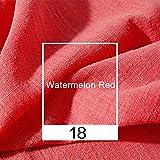 vap26 Bettwäsche aus Baumwolle 2m Natürlich DIY Flachs