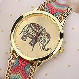 HUIHUI Uhren Damen, Geflochten Armbanduhren G...Vergleich