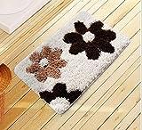 Pasillo de alfombras de piso del baño Alfombra absorbente colchones colchones colchones colchones alfombra alfombra Baño esteras alfombra WC ( Tamaño : 60*90cm )