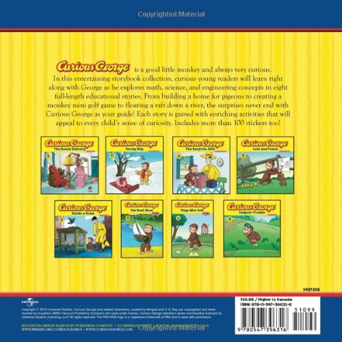 Image of Curious George Storybook Collection (Curious George/Activ & Stickrs)