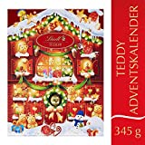Image of Lindt Teddy Adventskalender (24 verschiedene Überraschungen aus Milchschokolade) 345g