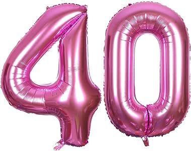 Smarcy Palloncini 4 Anni Palloncino per la Decorazione del 4 /° Compleanno