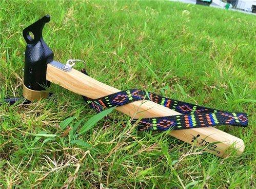 cyfie Outdoor Camping Hammer Abzieher für Pfähle Abzieher Nagelfeile Multi Function Tent Cooper Head Mallet Werkzeug Holz (Holz-meißel Mallet)