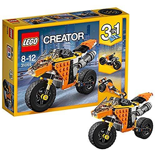 LEGO Creator 31059 - Straßenrennmaschine, Bausteinspielzeug