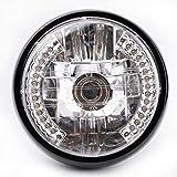 KKmoon 7' halo lampe de moto phare LED clignotant avec ampoule H4 pour Harley