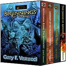 The Beginnings Omnibus: Beginnings 1, 2, 3 & Legend of Ashenclaw novella (Realm of Ashenclaw Beginnings Saga)