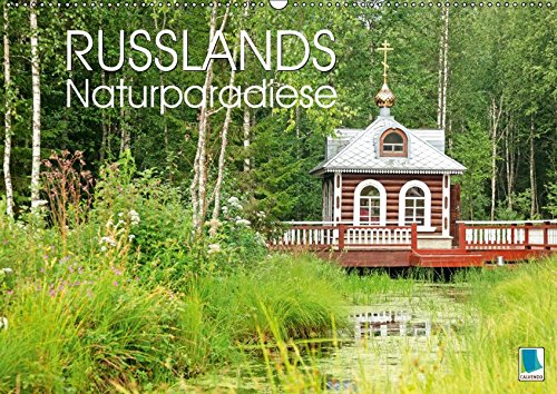 Russlands Naturparadiese (Wandkalender 2019 DIN A2 quer): Russlands Naturparadiese: eine Landschaft wie die russische Seele (Monatskalender, 14 Seiten ) (CALVENDO Orte) (CALVENDO Tiere)